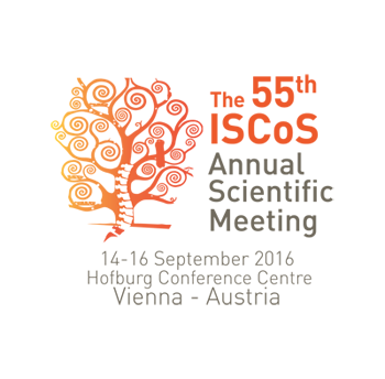55th Annual Scientific Meeting ISCoS, 14-16 September 2016, Vienna, Austria